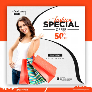 Fashion Sale Banner Collection Free Vector