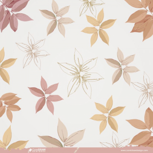 Hand Drawn Linear Engraved Floral Background Free Vector