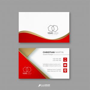 Corporate Elegant Professional Business Card