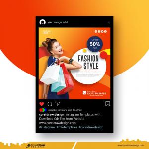 Fashion Style Instagram Carousel Templates Free Premium Vector