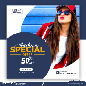 Special Offers Social Media Banner Free Vector