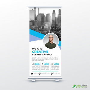 Corporate Company Rollup Banner Template