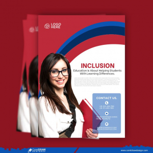 Education Flyer Template Free Vector Design