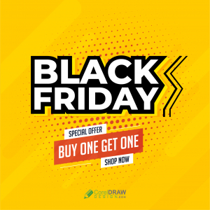 Black Friday Sale Professional Vector Template