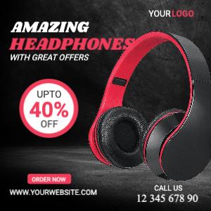 Headphone Offer